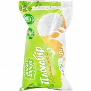 Мороженое Белая Бяроза пломбир сахарный рожок