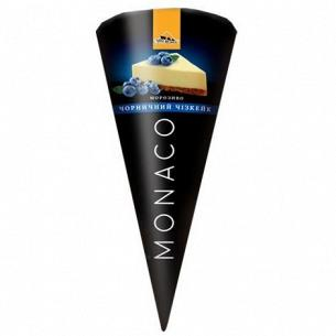 "Мороженое ""Три ведмеді"" Monaco Черничный чизкейк"
