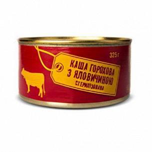 Каша Гороховая с говядиной стерилизованная
