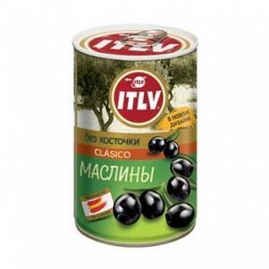 Оливки ITLV черные без косточки