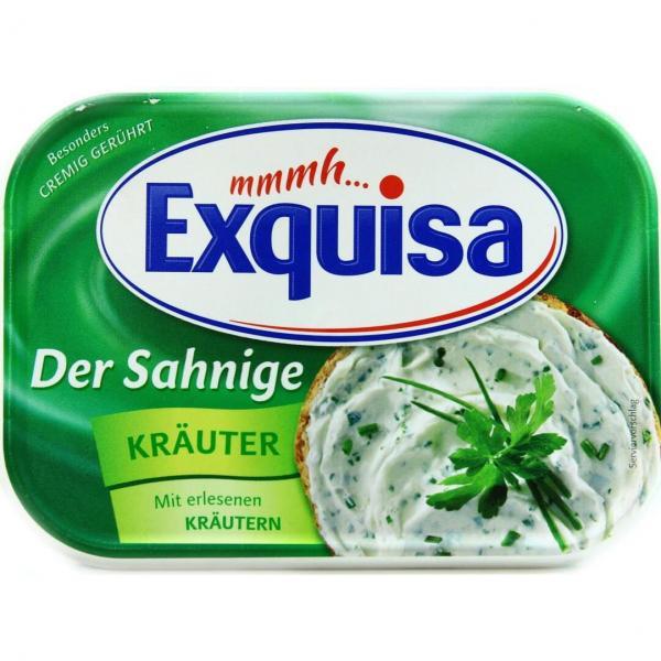 Сыр Exquisa сливочный с травами 66%