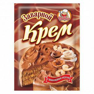 Крем Добрык с шоколадным вкусом заварной