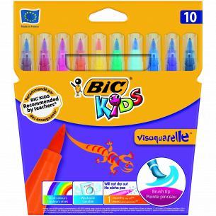 Фломастеры 10цв BIC Visaguarel