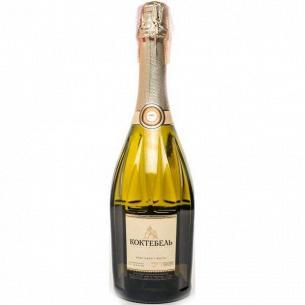 Шампанское Коктебель Украины белое полусладкое