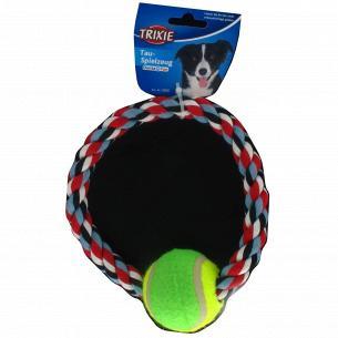 Игрушка д/собак Trixie Канат тенис.мяч18см 3266