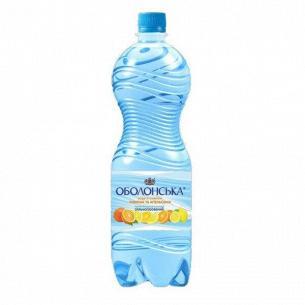 Вода мин. Оболонь Оболонская вкус лимон+апельс с/г