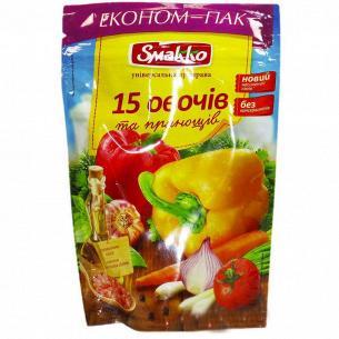 Приправа Smakko 15 овощей и пряностей универсальн