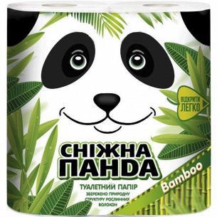 Бумага туалетная Сніжна панда Бамбук