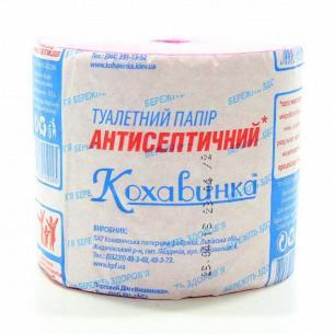 Бумага туалетная Кохавинка антисептична