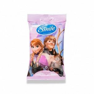 Салфетки влажные Smile Frozen