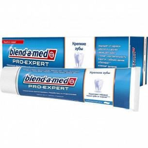 Паста зубная Blend-a-med Pro-Expert Крепкие зубы Тонизующая Мята