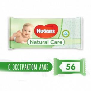 Салфетки влажные Huggies Natural Care
