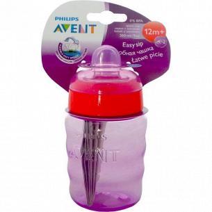 Чашка Avent с нос/ручками 12мес+ 260мл SCF553/00