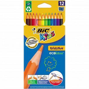 Карандаши цветные BIC Evolution Kids 12шт