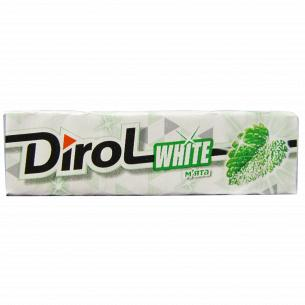 Резинка жевательная Dirol White мята