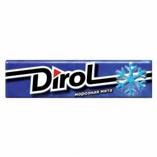 Резинка жевательная Dirol морозная мята