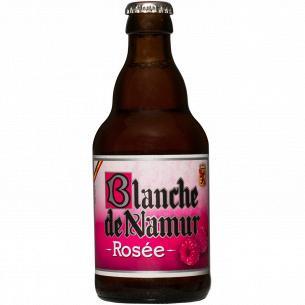 Пиво Blanche De Namur Rosee розовое нефильтрованное
