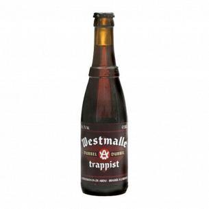 Пиво Westmalle trappist Dubbel темное фильтрованное