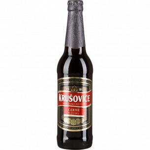 Пиво Krusovice Cerne темное c/б