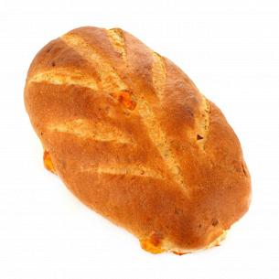 Хлеб с сыром и луком