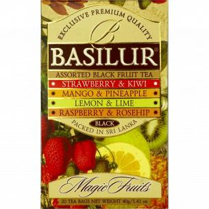 Чай Basilur Magic Fruits ассорти
