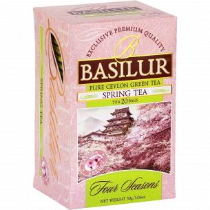 Чай зеленый Basilur Four Seasons с вишней