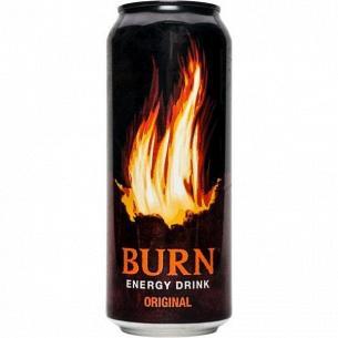 Напиток энергетический Burn Original безалкогольный ж/б