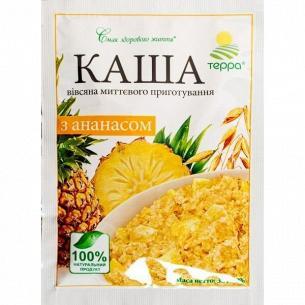 Каша Терра овсяная с ананасом