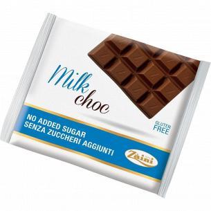 Шоколад молочный Zaini без сахара