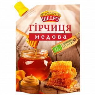 Горчица Щедро Медовая