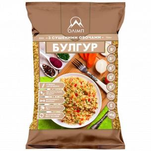 Крупа Олімп Булгур с сушеными овощами