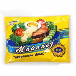 Соус Бест Провансаль Люкс майонезный 35% п/э