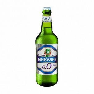 Пиво Микулинецьке Микулин светлое безалкогольное