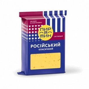 Сыр Пирятинъ Росийский 50%