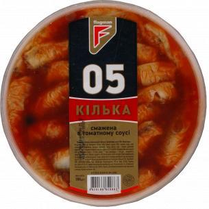 Килька Flagman обжаренная в томатном соусе