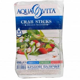 Палочки крабовые Aqua Vita замороженные