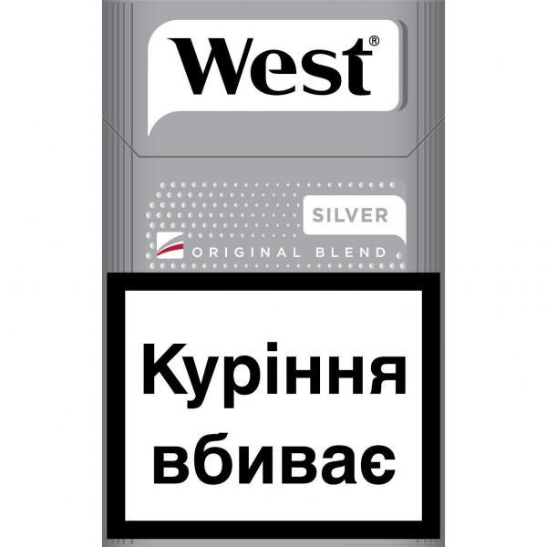 west черный сигареты купить