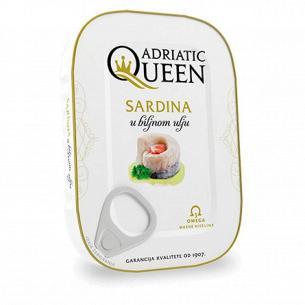 Сардины Adriatic Queen в масле