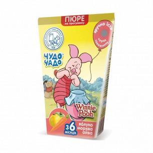 Пюре для малышей Чудо Чадо Яблоко-морковь-айва TWA slim