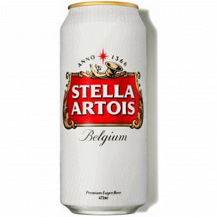 Пиво Stella Artois світле м/б