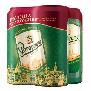 Пиво Staropramen Акция ж/б
