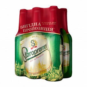 Пиво Staropramen 6*0,5 л