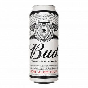 Пиво Bud Prohibition Brew светлое безалкогольное ж/б
