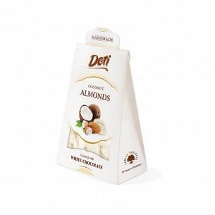 Миндаль Doti в белом шоколаде с кокосом