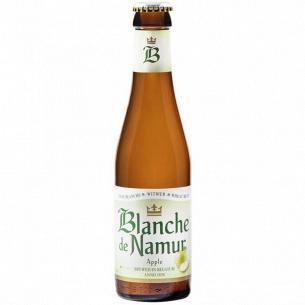 Пиво Blanche De Namur Apple светлое нефильтрованн