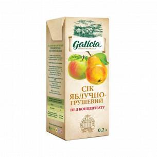 Сок Galicia яблучно-грушовый неосвеленный
