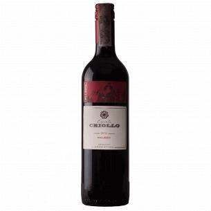 Вино Criollo Malbec Mendoza