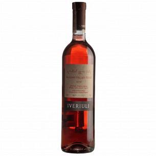 Вино Iveriuli Алазанская долина розовое