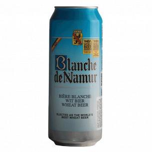 Пиво Blanche De Namur светлое нефильтрованное ж/б