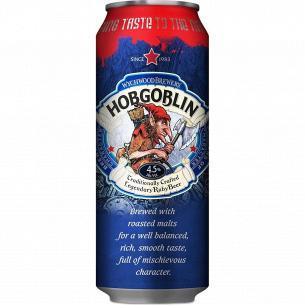 Пиво Wychwood Brewery Hobgoblin темное фильтрован